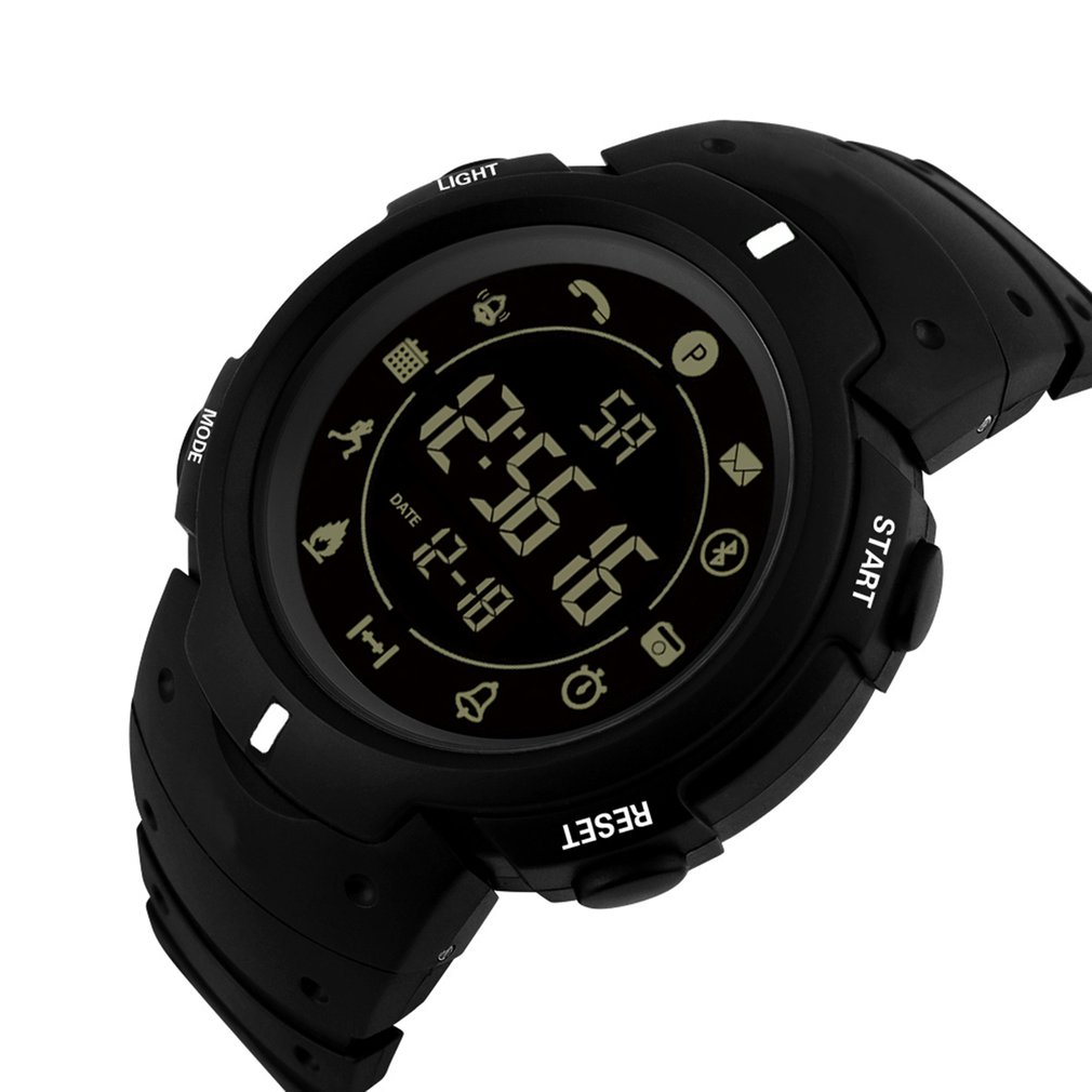 Lover's Watches Mens Watch Led Digital Date Sports Army Males Quartz Watch Outdoor Electronics Men Clock For Sports Wristband Running Gift Crazy Price