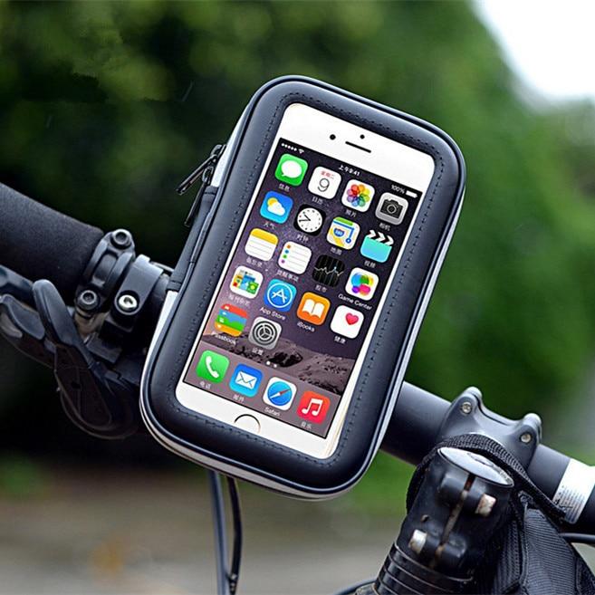 Горячая Универсальный Портативный Водонепроницаемый открытый транспорт мотоцикл велосипед мобильный телефон GPS навигации держатель стой...