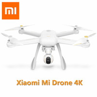 Оригинальный Xiaomi Mi Drone 4 К HD gps WI FI FPV 5 ГГц Quadcopter 6 оси гироскопа 3840X2160 P/ 30fps радиоуправляемые Квадрокоптеры с указывая полет