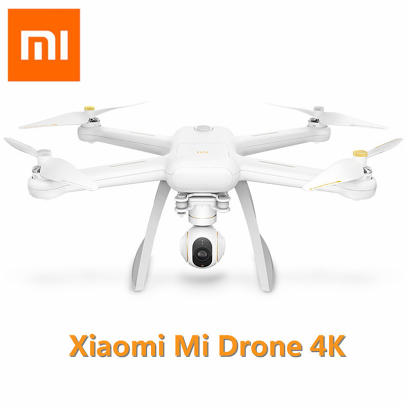Original XIAOMI Mi Drone 4 K HD GPS WIFI FPV 5 GHz Quadcopter 6 Axis Gyro 3840X2160 p /30fps RC Quadcopters con señalando vuelo