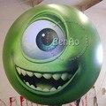 AO018 ГОРЯЧИЕ ПРОДАЖА 2 м Надувные гелия Планктона шар/гигантский летающий цветок воздушный шар рекламы/самолет/дирижабль/полет Мультфильм