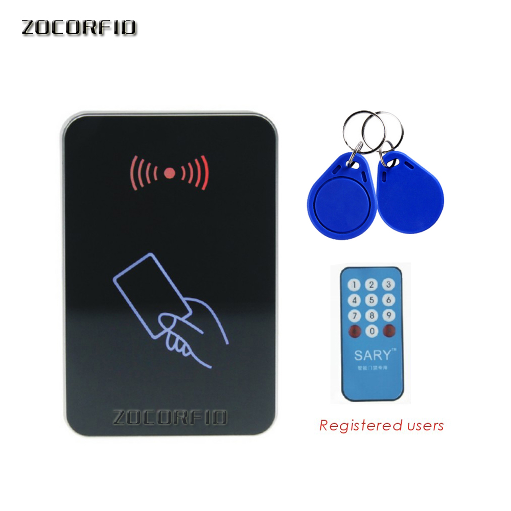 Newest SY - 1599 RFID 135.6MHZ blue LED entrance guard /access control system/ Access control card reader+10pcs cardsNewest SY - 1599 RFID 135.6MHZ blue LED entrance guard /access control system/ Access control card reader+10pcs cards