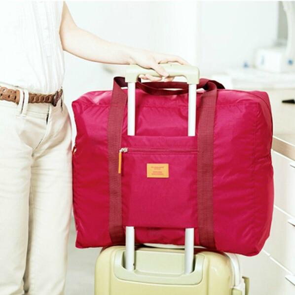 da bolsaagem dobrável sacolas Bolsa de Viagem : Duffle do Curso