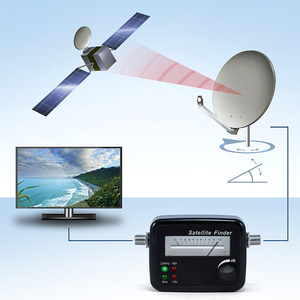 Image 2 - Hd détecteur de satellite numérique universel affichage numérique Compteur Satellite télévision par satellite signal détecteur télévision singnal