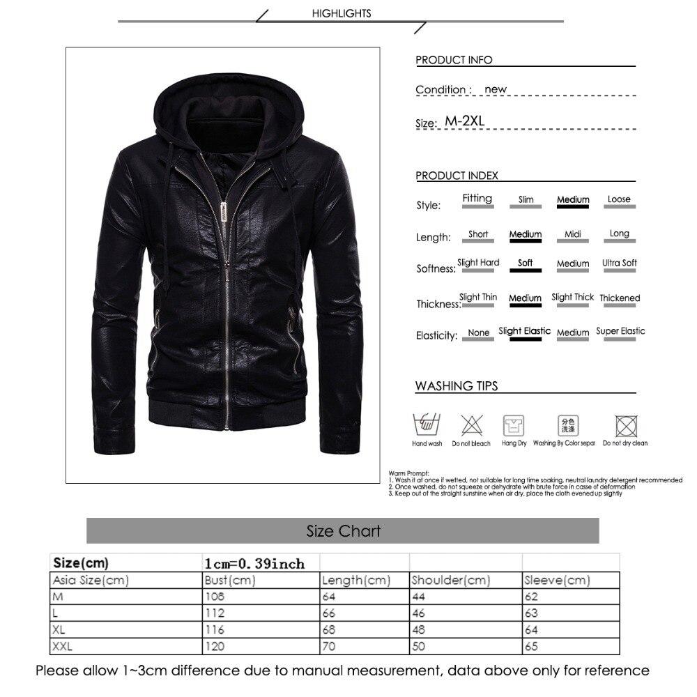Para Chaquetas Abrigo Corte Cuero De Plus Marrón Casual Negro qztxFXt