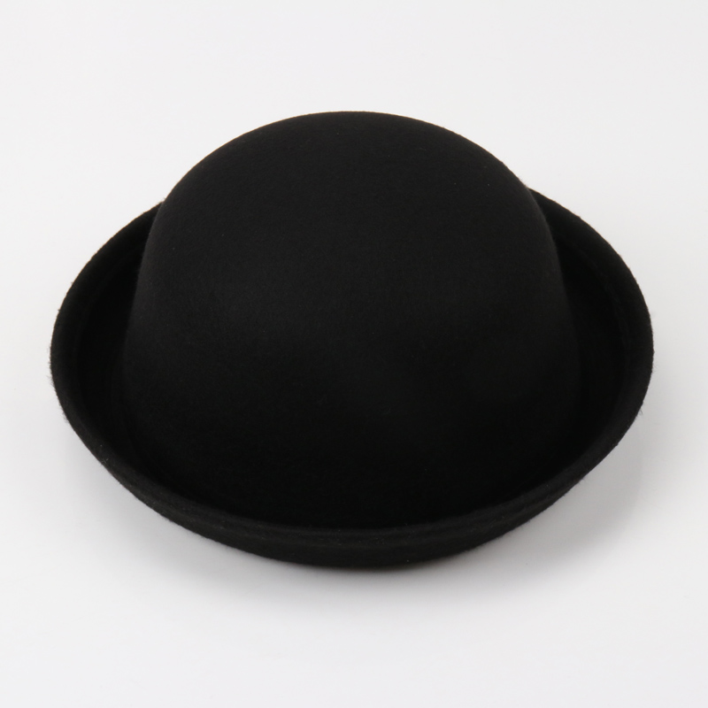 999283e3 2018 Black Multiple Color Little girls Fedora Hat Dome Cap Children Dress  Hats Kids Caps Felt Hats Felting Bowler Hat Boys Girls