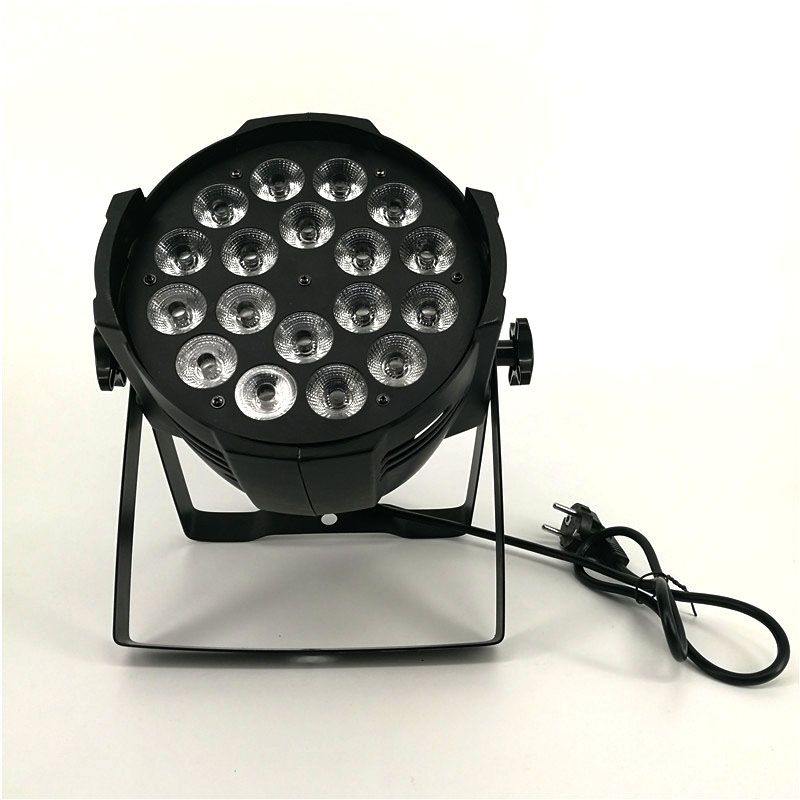 Aluminum alloy LED Par 18x18W RGBWA+UV 6in1 LED Par Can Par led spotlight dj projector wash lighting stage lighting le fanu joseph sheridan the purcell papers 1