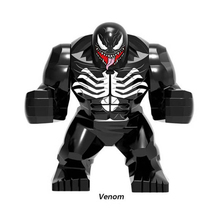 Big Thanos Big Anti Venom Carnage Iron Man Whiplash Hulk Buster Spider-Man Batman Building Block Figures Toys For Children JM93 цена 2017