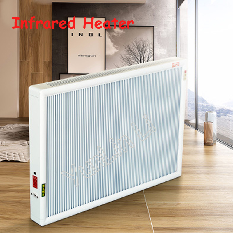 Carbon Fiber Heater Household Wall-mounted Heating Machine Remote Control Infrared Heater Energy-saving Warmer XH-175 electric heater carbon fiber heater 1610w floor wall hanging warmer for home infrared heating device xh 175