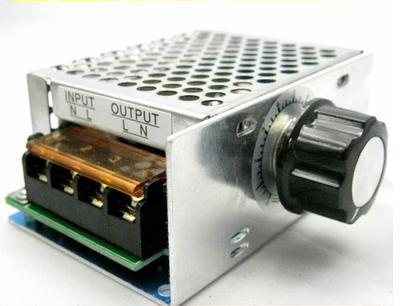 4000 Вт AC 220 В 110 В SCR Регулятор Напряжения Скорости Двигателя управления Диммер Термостат водонагреватель/освещение/двигатель/электрический утюг и т. д.