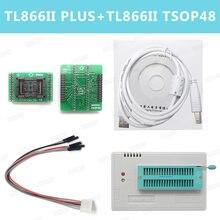 XGecu – programmeur 100% Original TL866ii Plus, TSOP48 SOP8 SOP28 TSOP32/40/48-DIP40, adaptateur de prise NAND 0.5mm pour TL866ii Plus