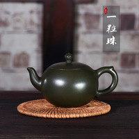 Kettle Yixing Dark red Enameled Pottery Teapot Famous Full Manual Customized Manufactor Wholesale A Piece Of Generation Hair