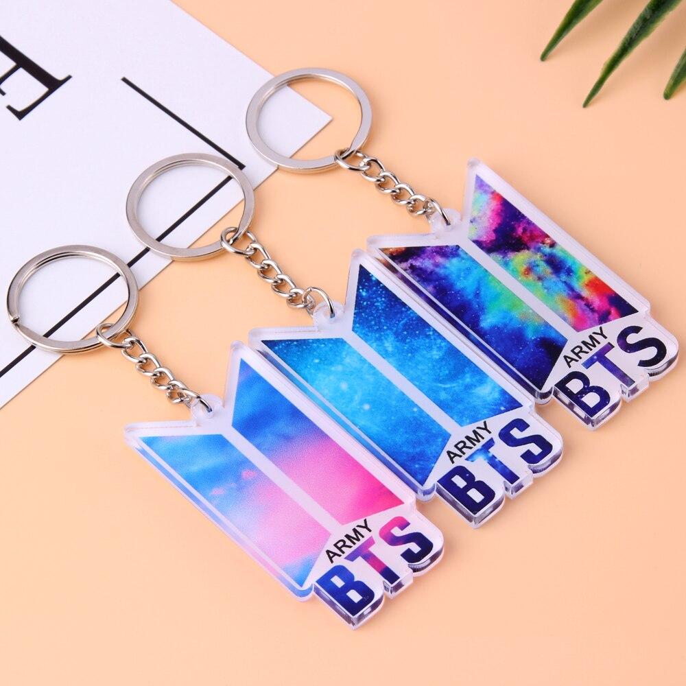New KPOP BTS Album Love Yourself Bangtan Boys Keychain Acrylic Pendant Key Ring lee seung gi 3rd album break up story release date 2007 08 17 kpop album