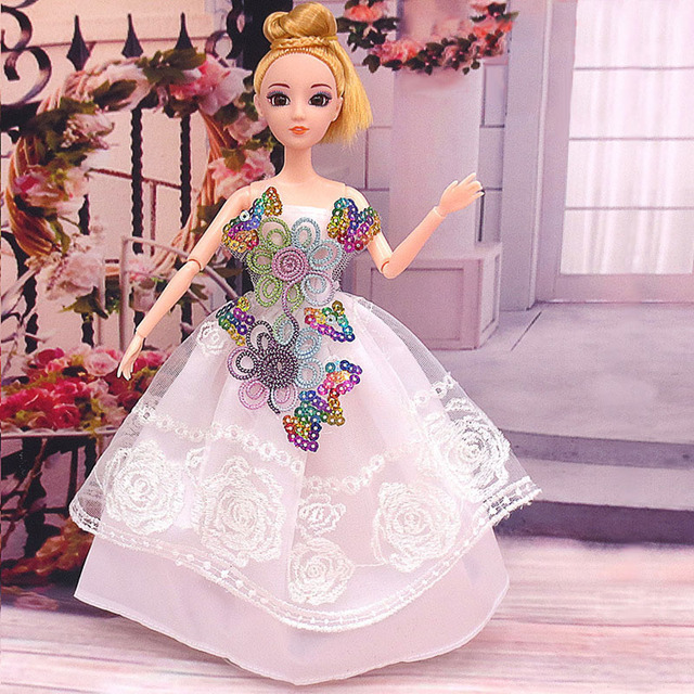 15PCS for Fashion priness dress clothes for barbie doll  Dress Clothes  Dress Set Children gifts Style random for clothes
