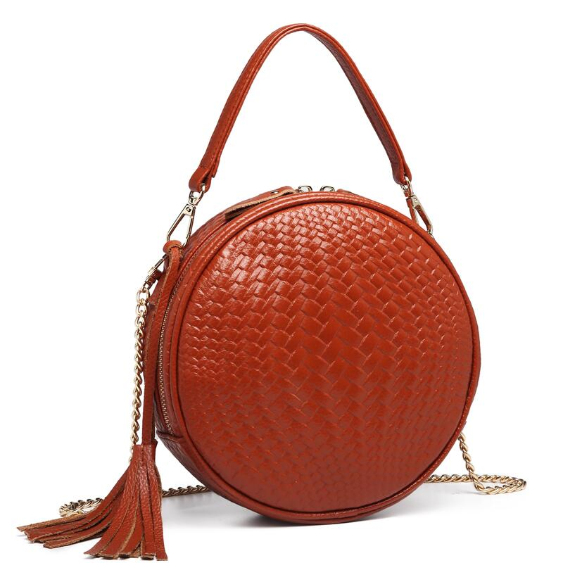 Genuine Leather Women Bags Famous Female Leather Bag Chain Shoulder Bags Designer Real Cowhide Handbag Bolsa Feminina