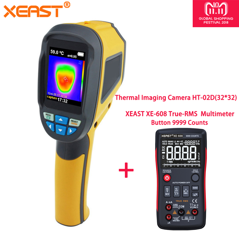 Fast Delivery via Moscow Warehouse-- Handheld Thermal Imager Infrared Imaging Camera HT-02D and HT-02 reiner salzer infrared and raman spectroscopic imaging