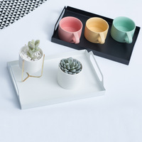 Breakfast tray hotel toiletries storage box Office coffee table desktop storage tray