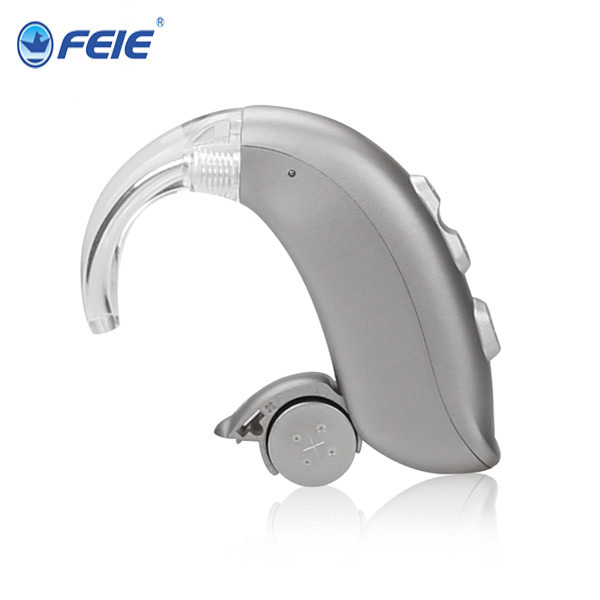 plastic ear hook BTE Type Hearing Aid Digital Programmable with a312 battery MY-22 Rehabilitation Therapy Supplies Properties rehabilitation therapy supplies properties digital hearing aid programmable s 15a with 4 channels