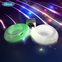 Maykit Fibreoptic With Three Mixed End Emitting Pmma Optical Fiber 10 W Cree Led Twinkling Lamp Illuminator For Wedding Decor
