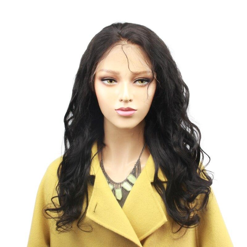 Eseewigs шелк базы Full Lace парики человеческих волос перуанский Remy Свободные волна Шелковый топ парики, кружева для черный Для женщин предварител...