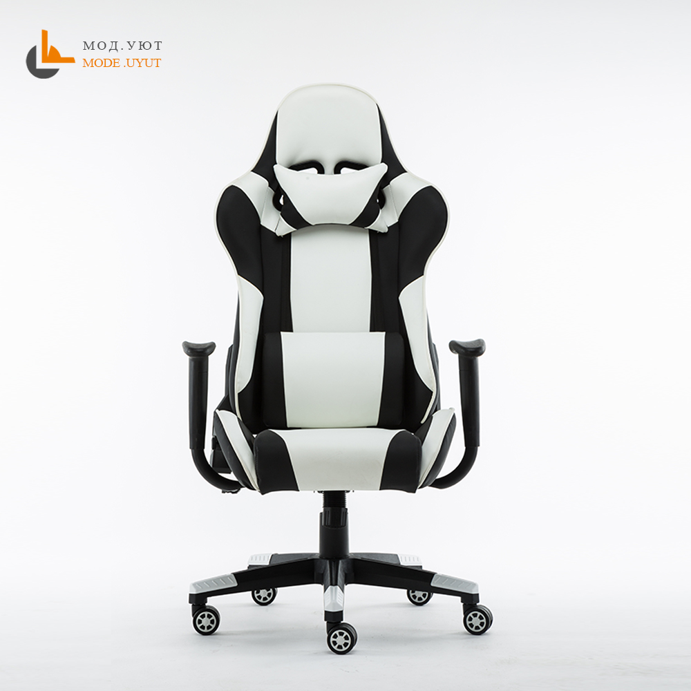 YK-1 WCG Computer Chair Racing Synthetic Leather Gaming Chair Internet Cafes  Comfortable Lying Household Chair
