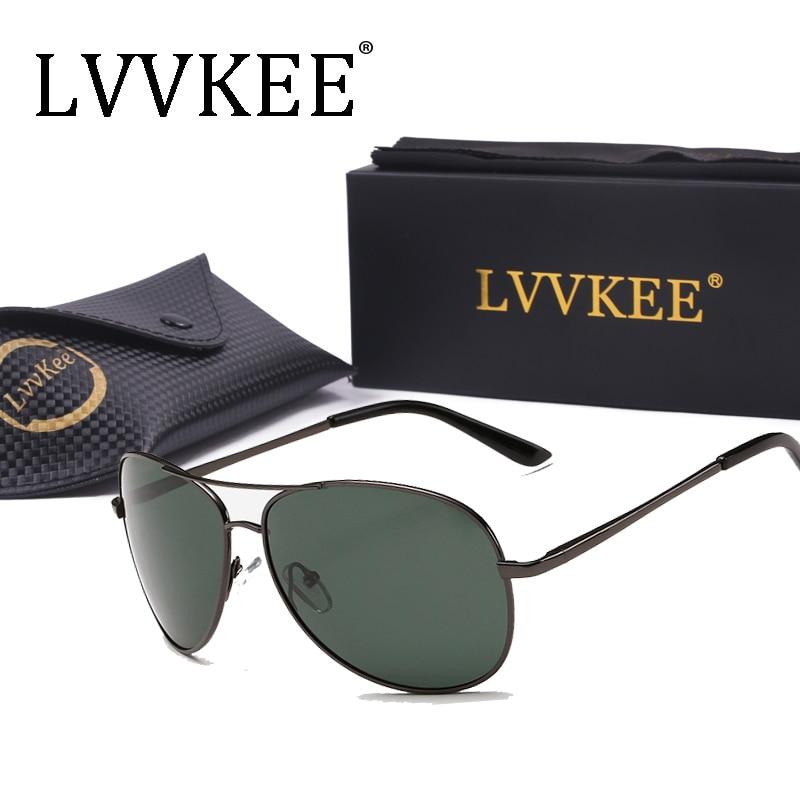 lvvkee Luxury <font><b>Sunglasses</b></font> Polarized Men Women <font><b>sunglasses</b></font> <font><b>Navy</b></font> Air Force Eyeglasses Pilot Glasses original packaging 103