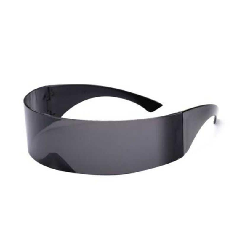 Funny Futuristic Wrap Around Costume Sunglasses Novelty Futuristic Glasses Hallo