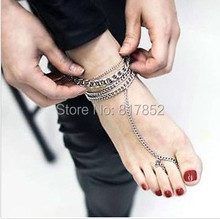 FREE SHIPPING L66 Fashion Women Foot Chain Silver Or Foot Chain Jewelry