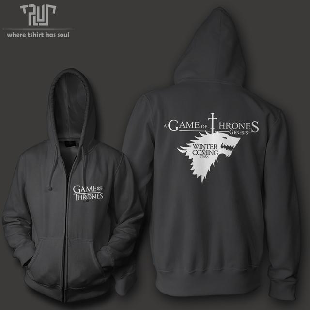 Game of Thrones Winter is Coming Zip Up Hoodies