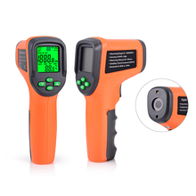 цена на FOSHIO Tachometer 10-99999 RPM Meter Digital Laser Gauges Non-contact Photoelectric Auto Tachometers Car Speed Gauge Speedometer