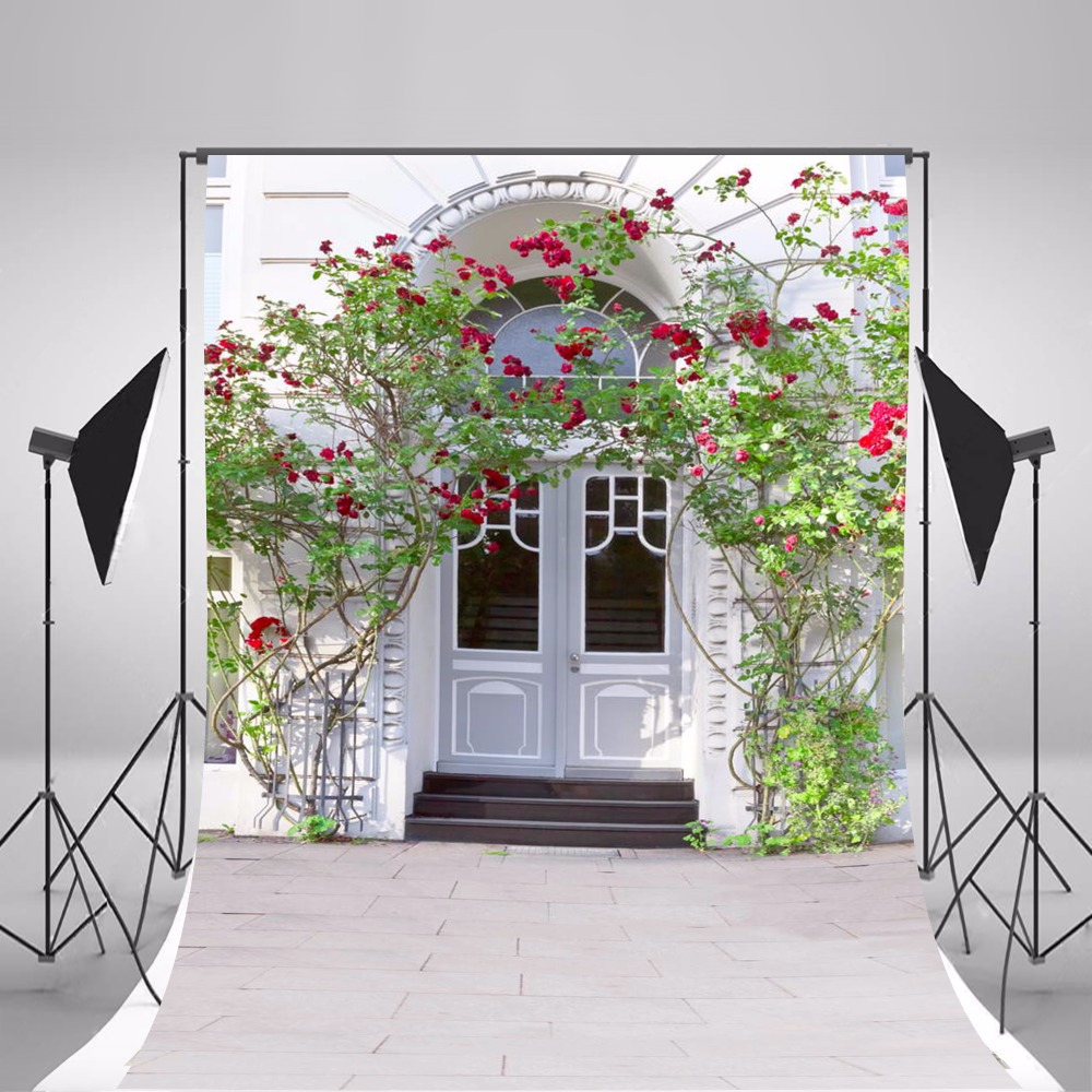 2017 Hot Flower Wedding Photographic Backgrounds Children Photo Backdrops Thin Vinyl Backgrounds For Photo Studio Fotografia thin vinyl photography backdrops photo studio photographic background for children wedding hot sell and wall f319
