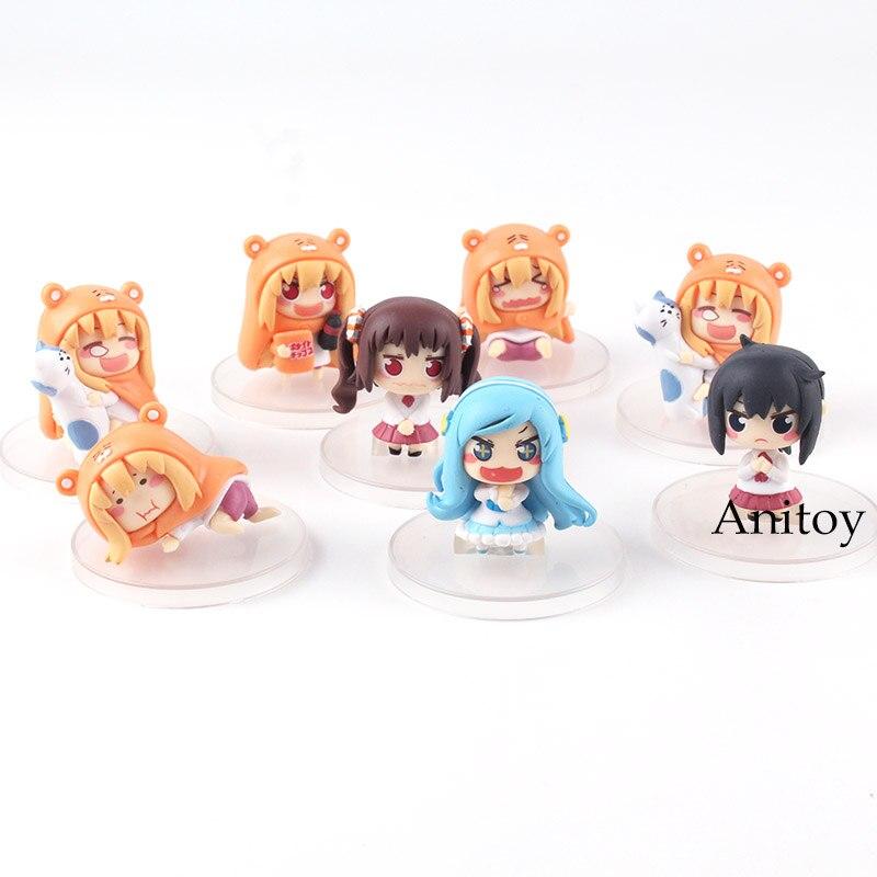 Image 4 - Himouto Umaru chan himouto umaru chan figure doma umaru doll PVC Action Figure Set Collectible Modle ToysAction & Toy Figures   -