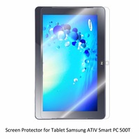 Clear LCD PET Film Anti Scratch Anti Bubble Touch Responsive Screen Protector For Tablet Samsung ATIV
