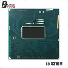 Intel Core i5-4310M i5 4310M SR1L2 2,7 ГГц двухъядерный процессор Quad-нить Процессор процессор 3 м 37W Разъем G3/rPGA946B