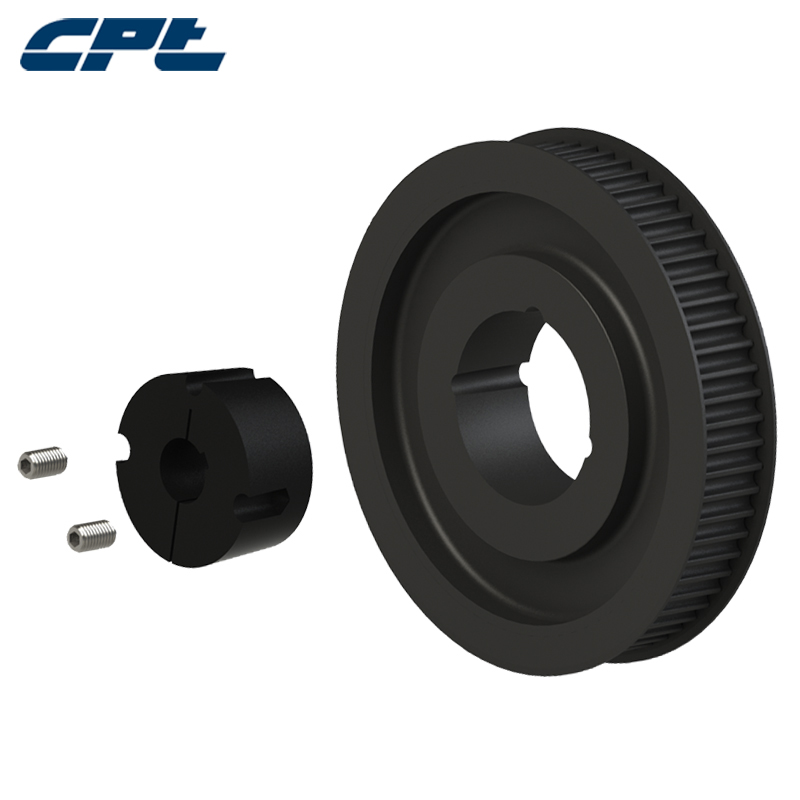 CPT HTD 8M Timing Pulley steel material 8mm pitch 80Teeth for 85 mm wide belts match