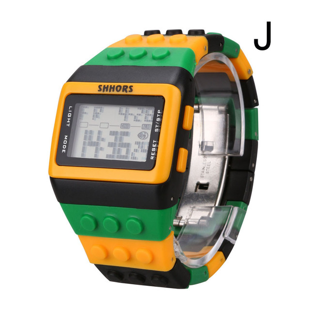 2018 Hot Special Unisex Colorful Digital Wrist Watch Vintage Relogio Feminino Ma