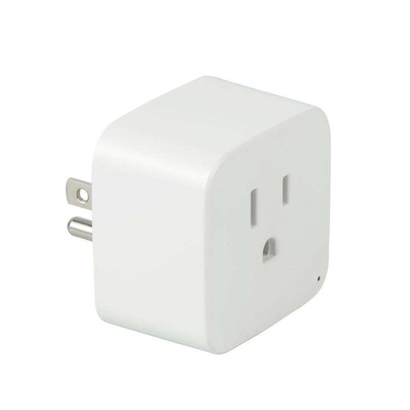 QIACHIP Smart Plug Smart Home Socket Work with Amazon Alexa WiFi App Remote Control US Timer Plug for Smartphone Tablet AC 220V