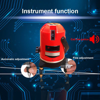 Lasers Level Red Cross Line 1 Point 360 Degree Rotary Self leveling Nivel Diagnostic Tools ALI88