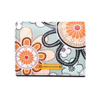 small ck wallet women short fashion Card package floral pattern Simple coin purse