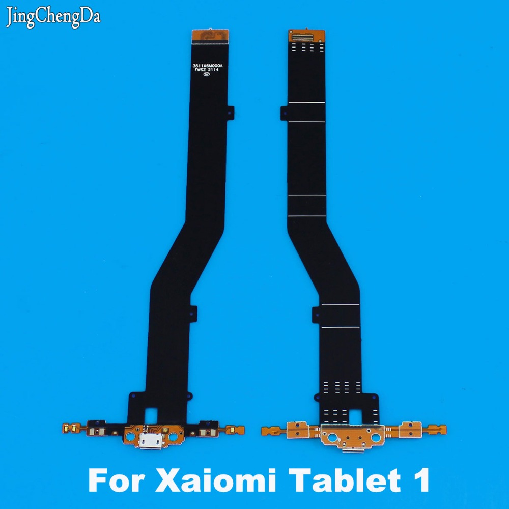 JCD For Xiaomi Mi Pad 1 Mipad Mipad1 Micro USB Dock Charger Connector Charging Port Flex Cable Replacement Spare Parts