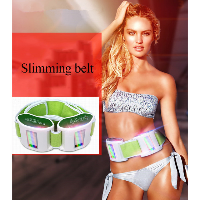 11.11 Hot Sale Electric Slimming Belt Lose Weight Sway Vibration Fitness Massage Abdominal Belly Muscle Waist Trainer Stimulator