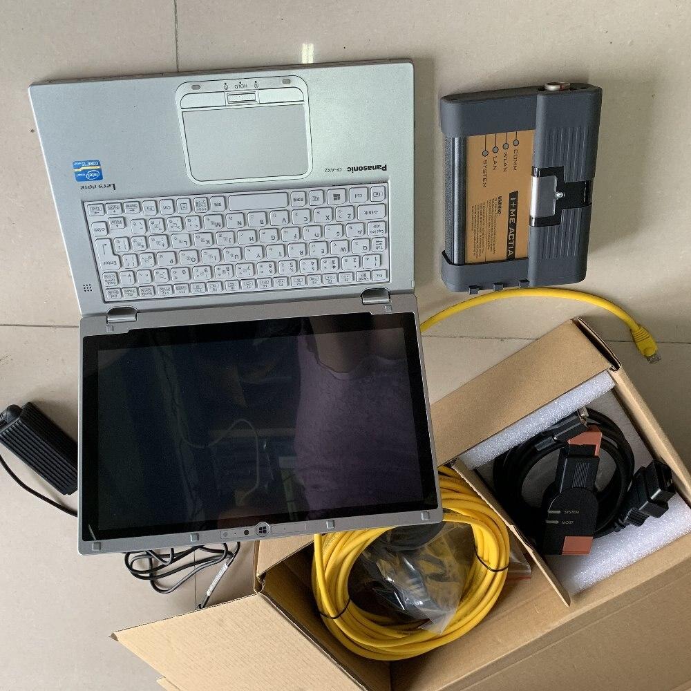 2019 Für Bmw Icom A2 Obd Voller Kabel Mit Laptop Cf-ax2 Isis Neueste Software Expert Modus 480 Gb Ssd Bereit Zu Verwenden 64 Bit Windows 7 Bestellungen Sind Willkommen.