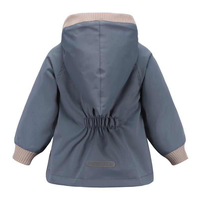 Image 2 - Горячая Распродажа 2019, ветрозащитные водонепроницаемые куртки для маленьких мальчиков, Детские двухслойные куртки, верхняя одежда-in Куртки и пальто from Мать и ребенок