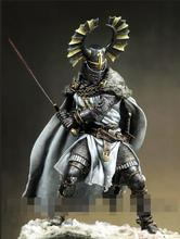 1/18 90mm Teutonic Knight soldier high 90mm toy Resin Model Miniature Kit unassembly Unpainted
