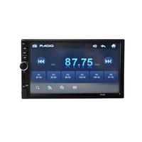mp5 7023b 2 din car radio 7 HD Player MP5 Touch Screen Digital Display Bluetooth Multimedia USB Autoradio Car Backup Monitor