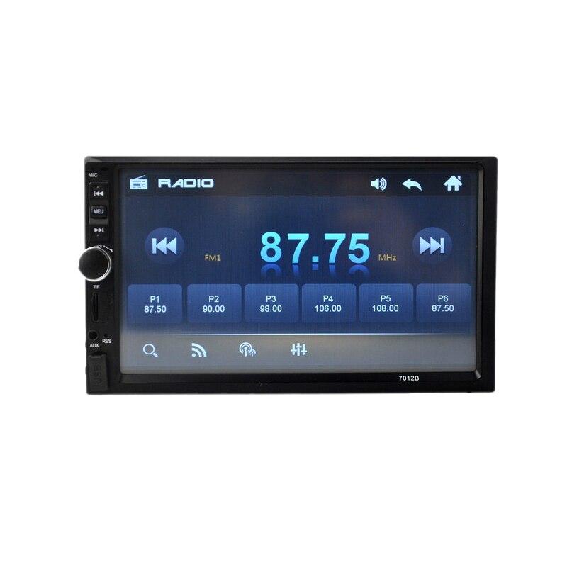 mp5 7023b 2 din car radio 7 HD Player MP5 Touch Screen Digital Display Bluetooth Multimedia USB Autoradio Car Backup Monitor цена