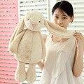 1 unids Lindo juguete creativo para los niños largas orejas de Conejo de Poliéster lleno de algodón juguetes de peluche muñeca muñecas de juguete muñeca de Conejo para apaciguar