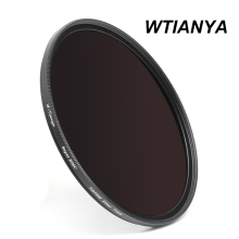 WTIANYA 62mm SLIM ND1000 Multi-Coated Glass Neutral Density 3.0 ND Filter (10 Stop) for 62 mm Digital Camera Lens