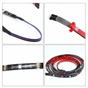 Image 3 - DC 5V USB テレビライトコンピュータ画面バックバイアステープライト SMD 5050 RGB LED テレビバック照明 44key 赤外線リモコン