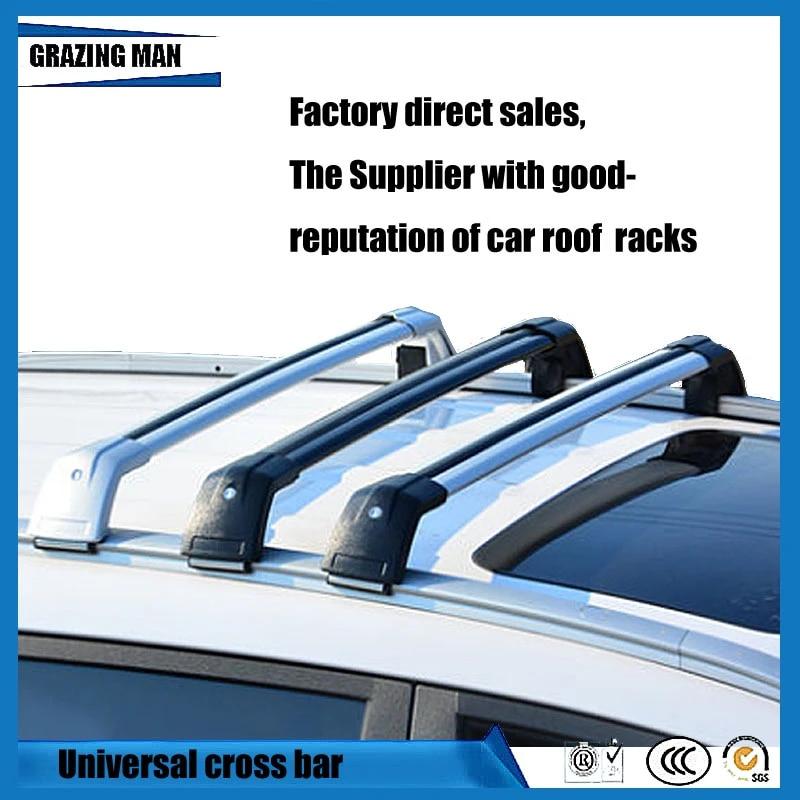 car accessories car shock resistance universal cross bar aluminum alloy material roof rack rails cross bar for universal type
